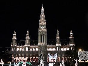 Photo: austria, travel, town, hall, vienna, wien