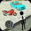 Stickman Crime Vegas Mafia : Fight to Survive 2 icon