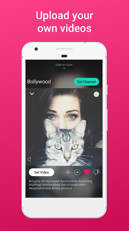 Screenshots of Vyng Video Ringtones for iPhone