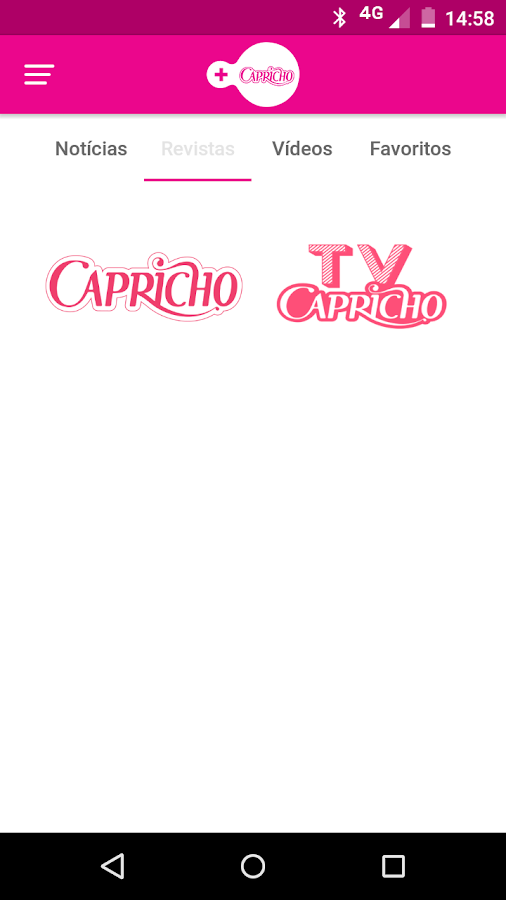 +Capricho- screenshot