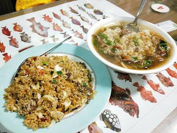 沙茶牛肉炒飯麵