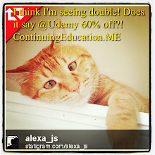 Photo: I think I'm seeing double! Does it say @Udemy 60% off?! #intercer #cat #cats #education #udemy #pet #pets #beautiful #pretty #sweet #continuingeducation #learn #petsofinstagram #school #teach #teach2013 #college #student #affiliate #deal #sale #book #look - via Instagram, http://instagram.com/p/Yi0IYoJfll/