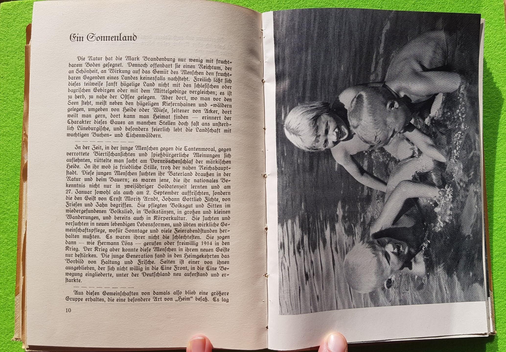 Geist und Schönheit, 1940 - Ein Sonnenland: Kinderland!