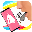 Find phone by whistling icon