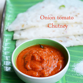 Easy Onion Tomato Chutney