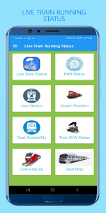 Live Train, PNR Status, IRCTC Seat & Train Enquiry Apk Latest Version Download For Android 1