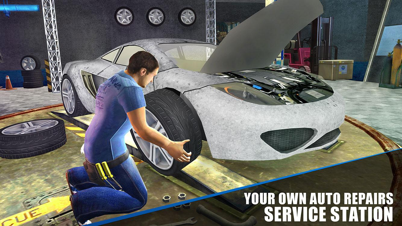 Sports Car Mechanic Simulator- screenshot