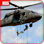 US Army Helicopter Gunship Strike : War Shooter Icon
