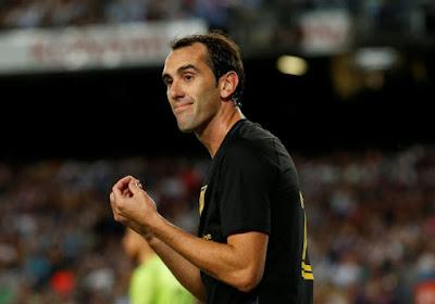Inter Milaan versterkt zich met Diego Godin