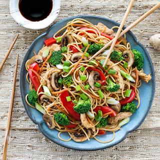 Lo Mein With Spaghetti Recipes