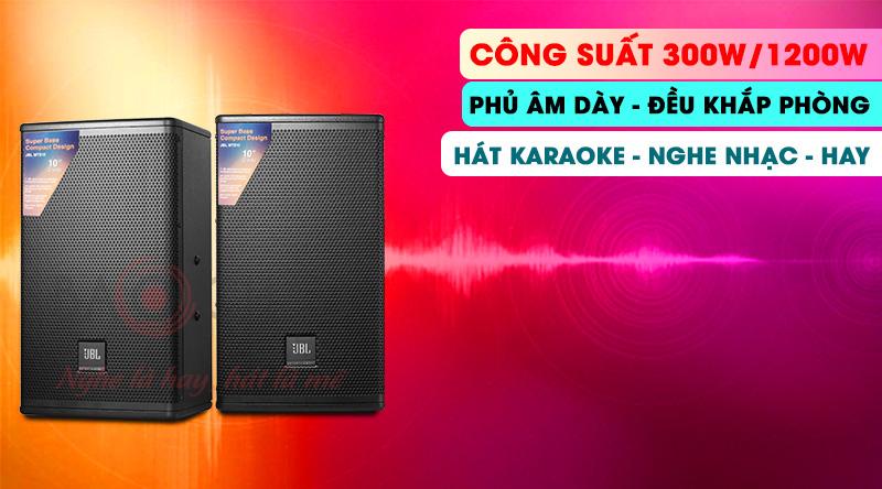Loa karaoke JBL MTS10 là dòng loa mới ra mắt Thương hiệu Mỹ, công nghệ hiện đại