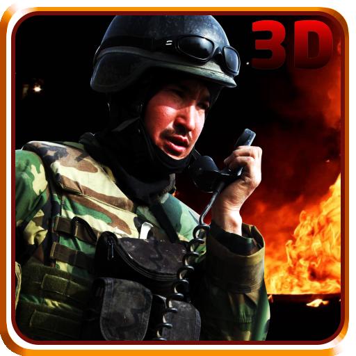 突擊隊戰區救援3D 動作 App LOGO-APP試玩