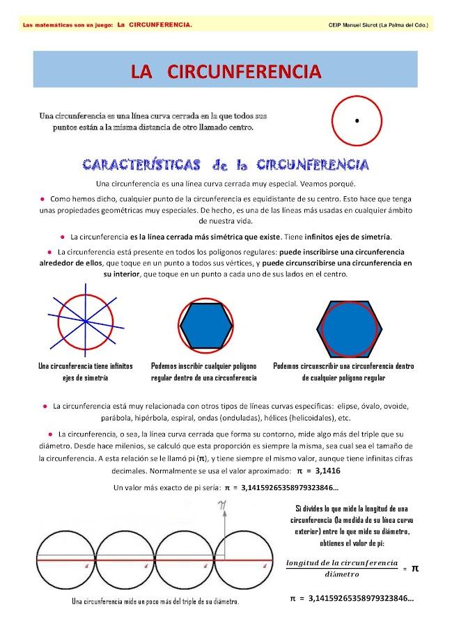 Características De La Circunferencia