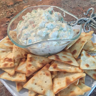 Blue Cheese and Shrimp Garlic Dip