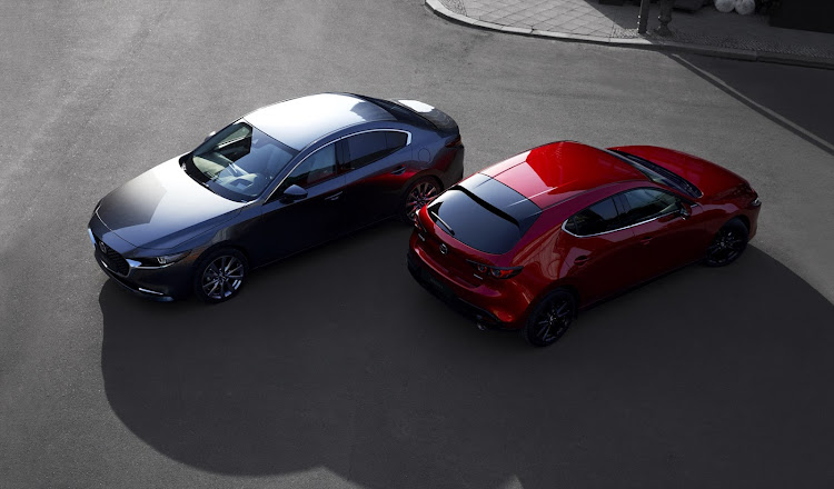 The new Mazda3 sedan and hatch