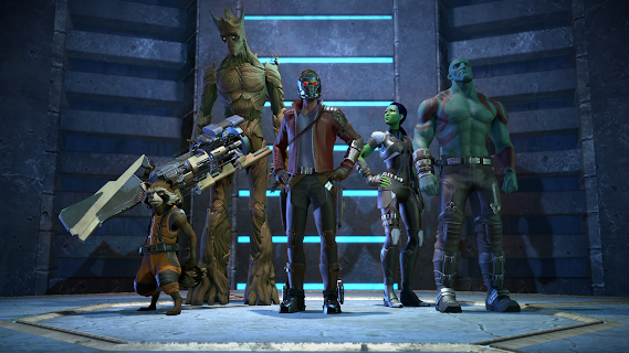 Guardians of the Galaxy TTG screenshot