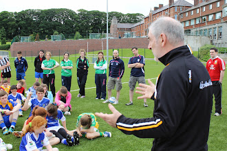 Photo: Many CPN kids listen to Mickey Harte