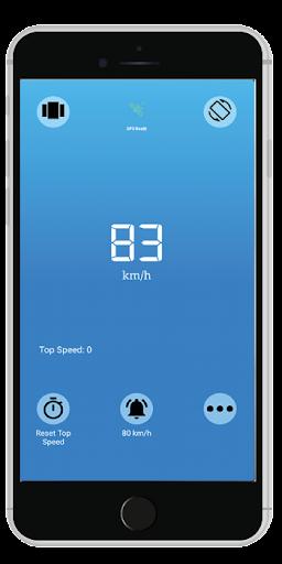 Accurate Speedometer app -Digi GPS HUD Speedometer 7.4 screenshots 1