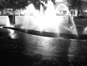 Photo: The fountains outside The Heart Hospital Baylor Plano