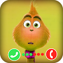 Fake Video Call From Grinch Simulator icon