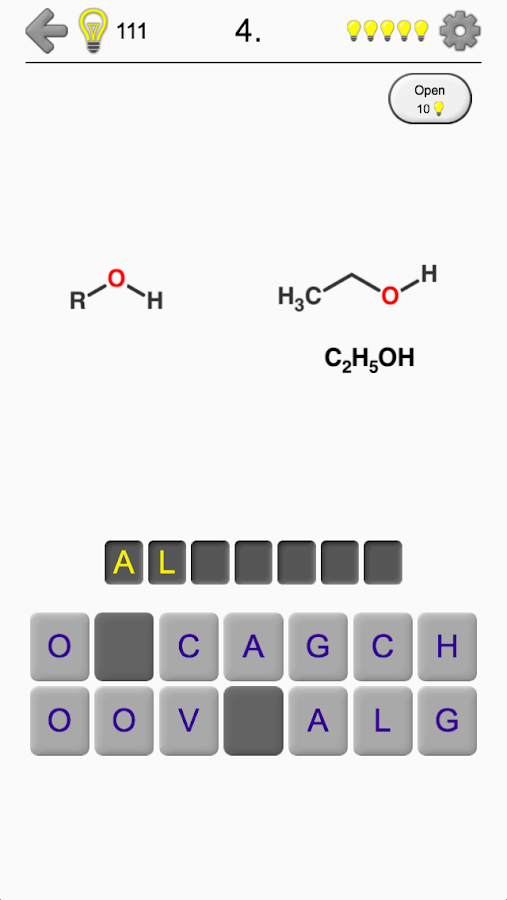 Functional Groups - Quiz about Organic Chemistry- screenshot