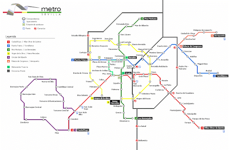 Sevilla Metro Map Apps on Google Play