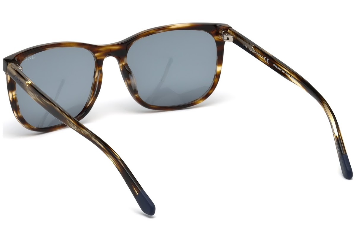 cab7be30141 Buy Gant GA7093 C57 56V (havana other   blue) Sunglasses