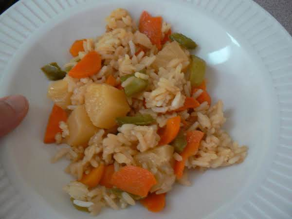 Favorite Vegetarian Fried Rice Recipe
