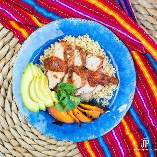 GRILLED CHAMOY PORK LOIN RECIPE .