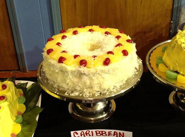 Caribbean Rum Coconut Pound Cake Recipe