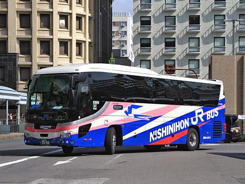 西日本JRバス「名神ハイウェイバス京都線」 3591