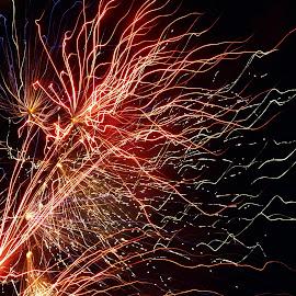Fireworks by Jo Jurkiewicz - Public Holidays July 4th ( holiday, fireworks, july 4th, celebration, independence day )