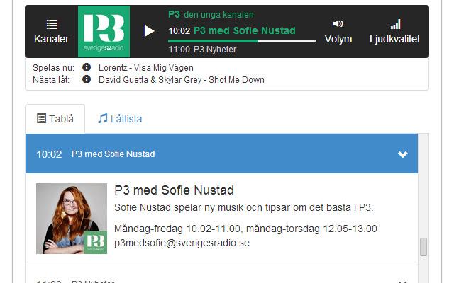 Sveriges Radio Player