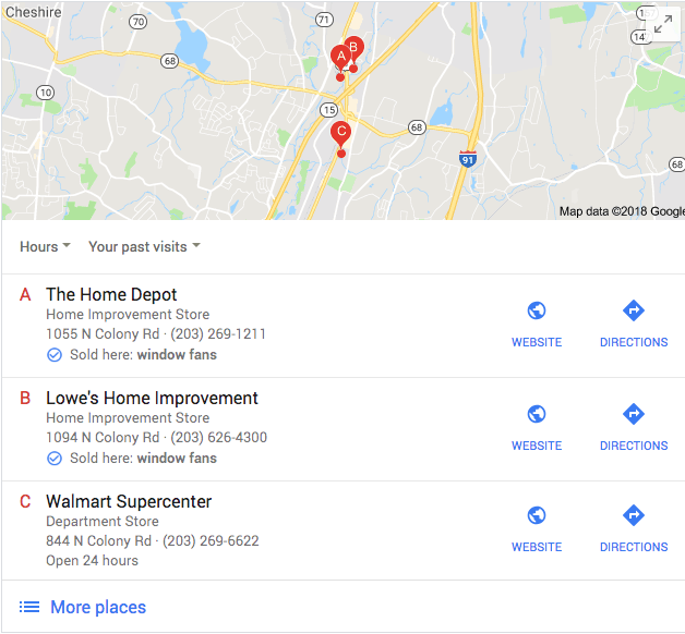 Google Local SEO Sold Here Update