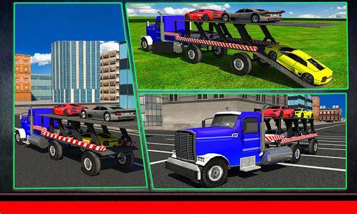 トランスポータートラック:スポーツカー
