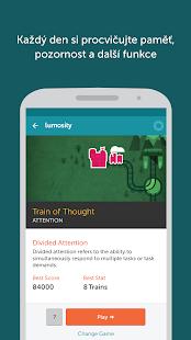 Lumosity - Trénink mozku - náhled