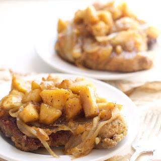 Apricot Apple Chutney Pork Chops