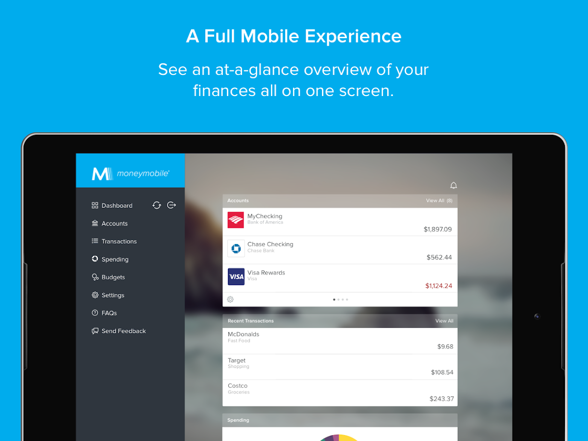 MoneyMobile- screenshot