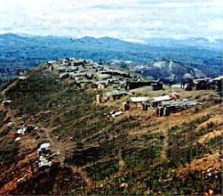 Photo: View of 1/77 Battery and 1/5 Infantry perimeter from TOC at LZ Peanuts.  Picture from Cattron.