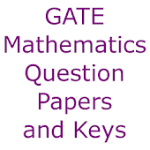 GATE Mathematics Papers