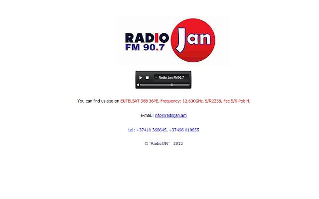 Radio Jan 90.7 FM Online