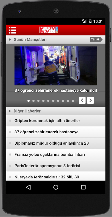 Bursa Haber- screenshot