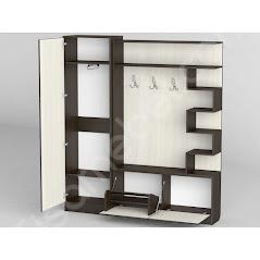 Прихожая-23 мебель разработана и произведена Фабрикой Тиса мебель