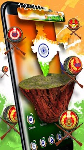 3D India Republic day Theme - náhled