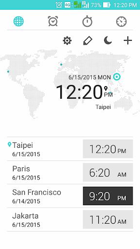 華碩時鐘 – 鬧鐘 碼錶 計時器 桌面小工具