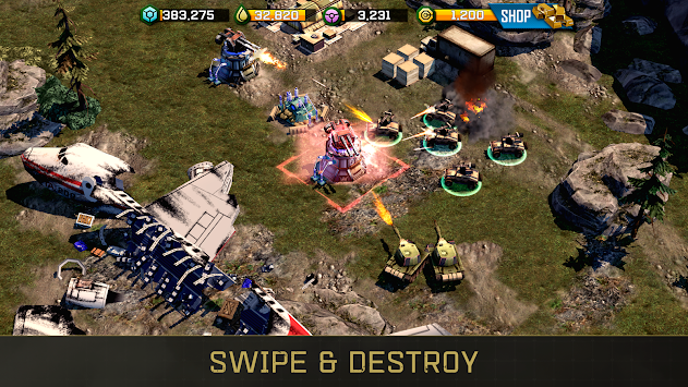 Perang Komander: Rogue Assault APK screenshot thumbnail 6
