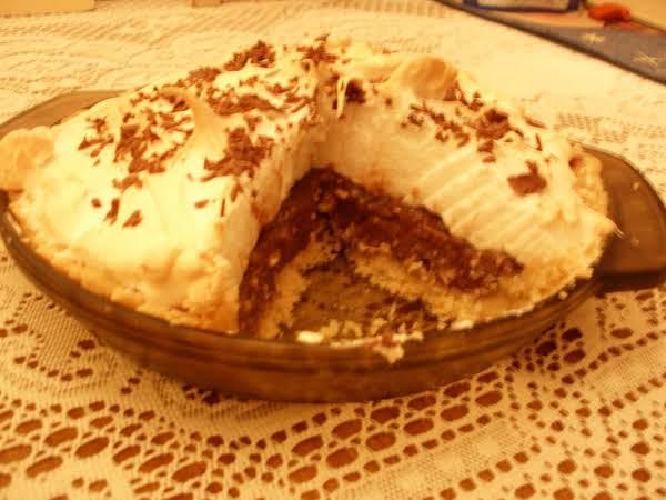 Heavenly Chocolate Pie Recipe