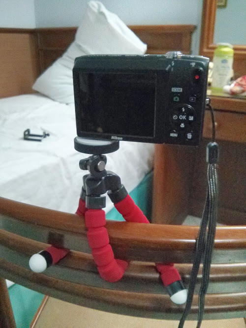 Flexible Tripod with Smartphone holder