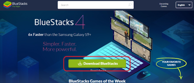 Download Bluestacks