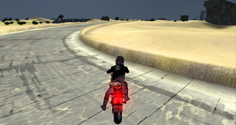 Скриншот GT Fast Turbo Motorbike 3D